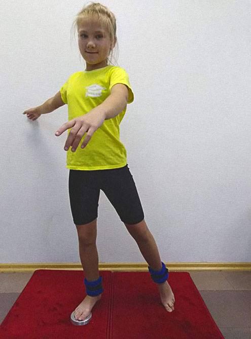 Тренировка на спиннере с утяжелителем