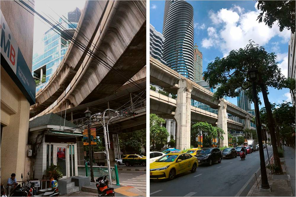 Длярешения проблемы с пробками в Бангкоке строят многоуровневые автострады