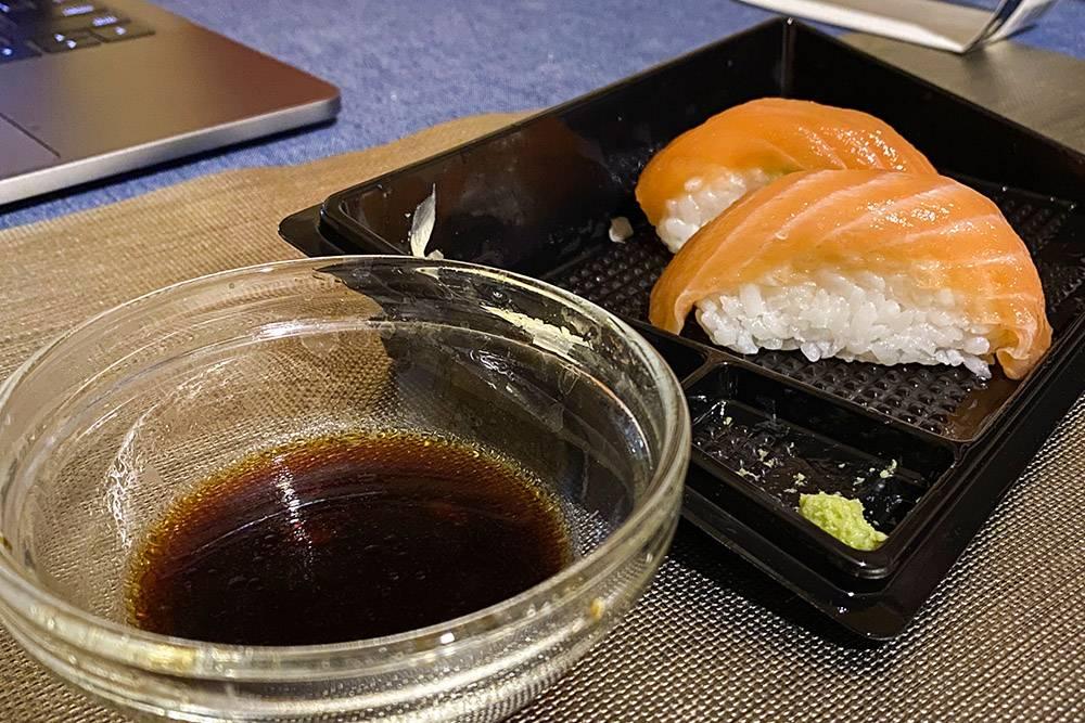 Суши из «Азбуки вкуса» стоят своих денег