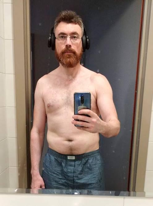 С начала занятий боксом я сбросил 20 кг