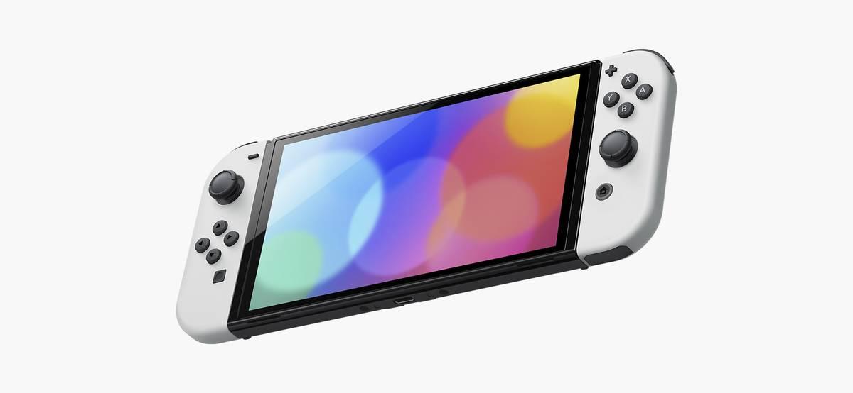 Представлена Nintendo Switch с увеличенным экраном