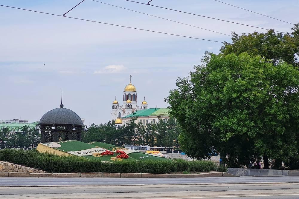 Храм на Крови видно из разных точек города