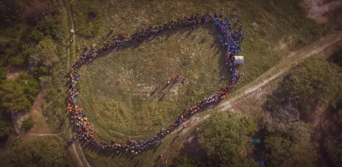Масштабы игры «Ведьмак» в Крыму в 2019году можно оценить по этому кадру из видео с квадрокоптера. Видеограф: Павел Мягких
