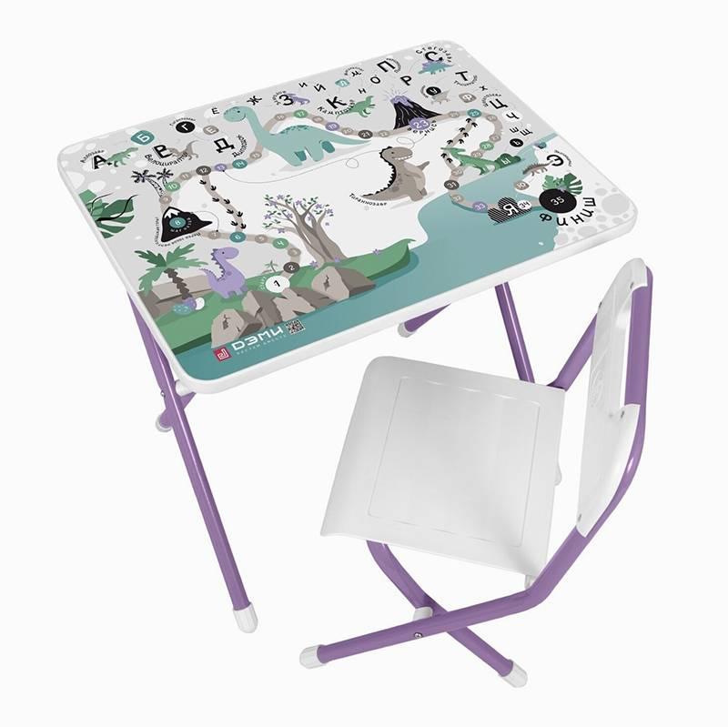 Складные металлические стол и стул «Дэми» или&nbsp;Nika не занимают много места и стоят от 1382<span class=ruble>Р</span>. Источник: market.yandex.ru