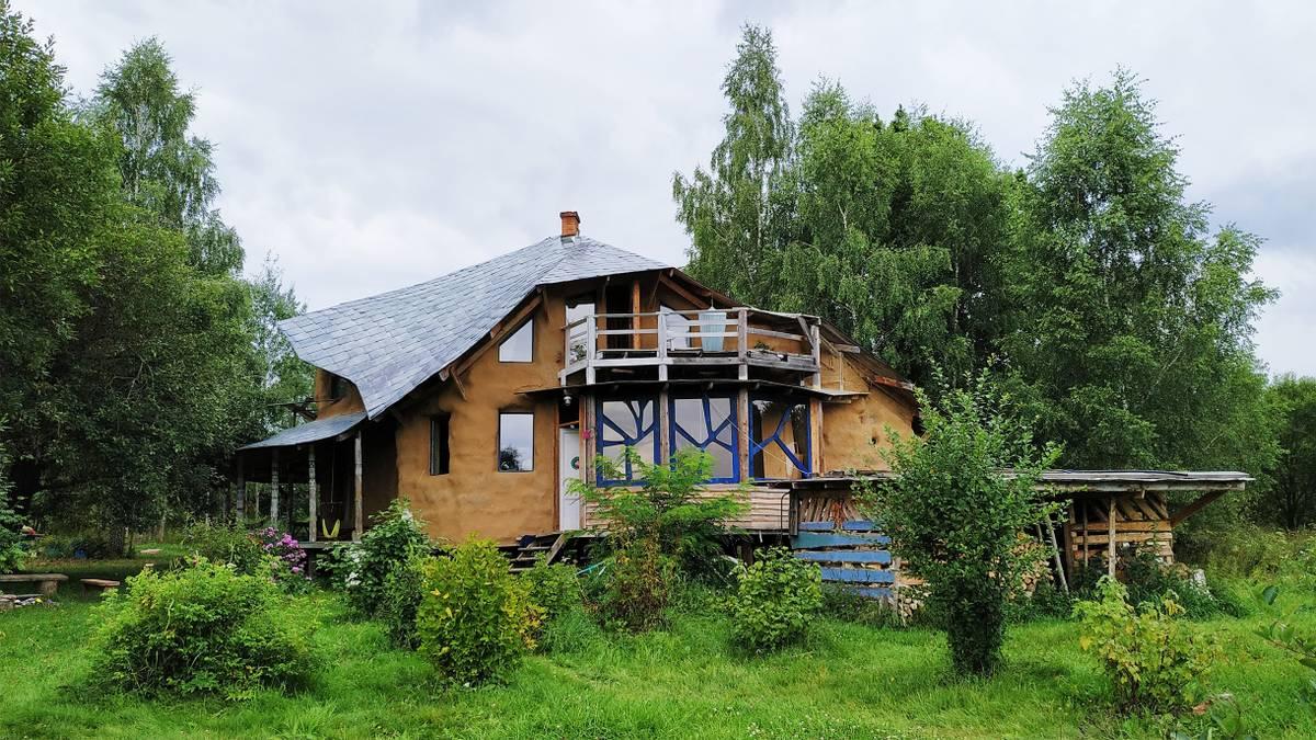 Как мы построили соломенный дом вКалужской области за1млн рублей