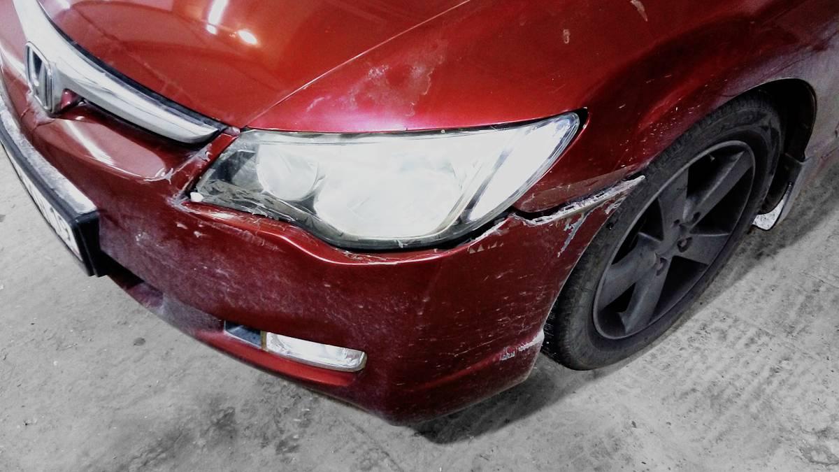 Как мы отремонтировали машину на страховую выплату