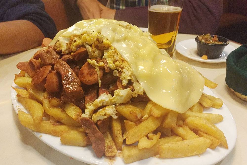 Чорильяна — блюдо изВальпараисо