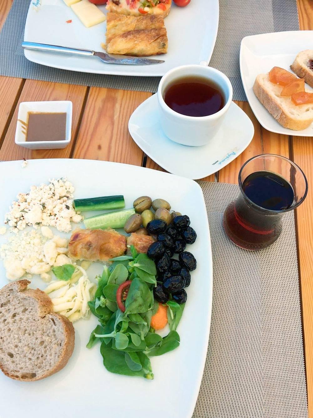 Завтрак в Aysima Hotel