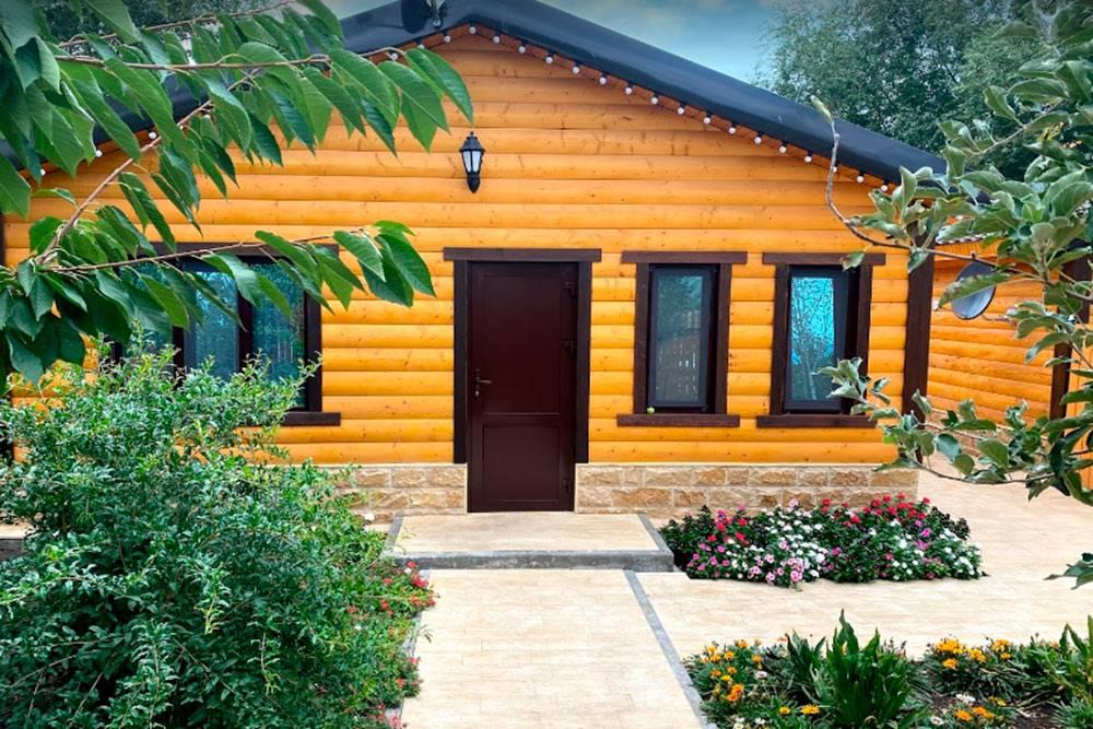 Наш домик на базе отдыха «Главрыба»