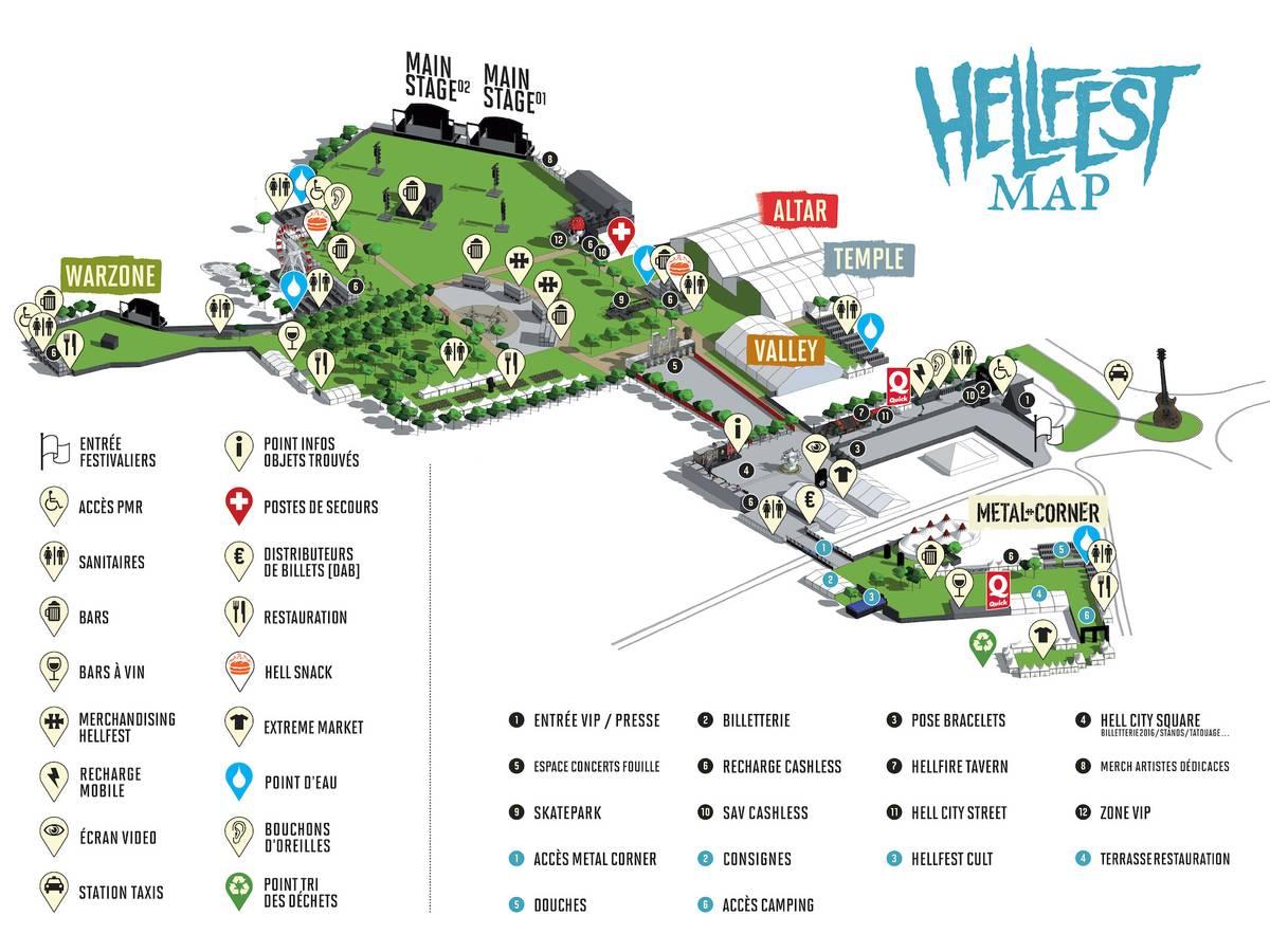 На карте расстояния кажутся небольшими, но это обманчиво: между сценами Valley и Warzone пешком минут 8—10