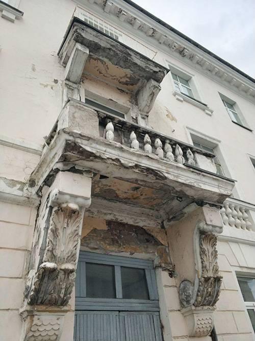Это дом в самом центре Петрозаводска