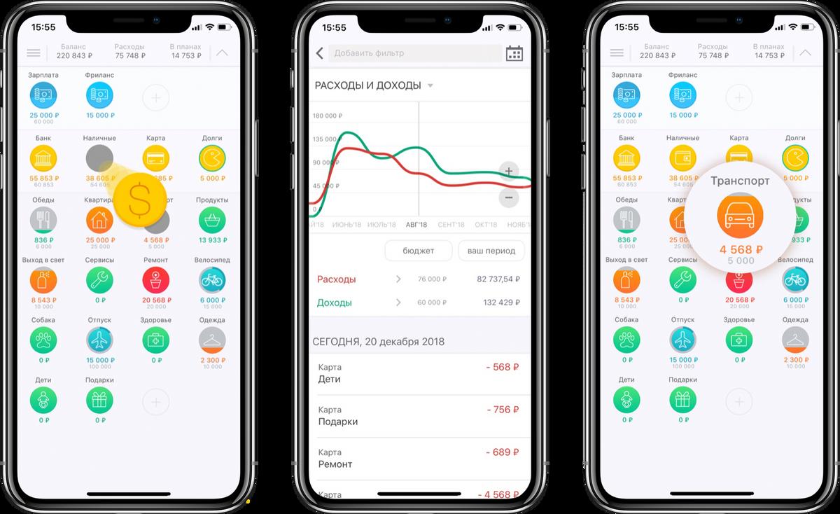 Приложение распознает банковские сообщения, экспортирует статистику в эксель и поддерживает доступ с нескольких устройств для всей семьи