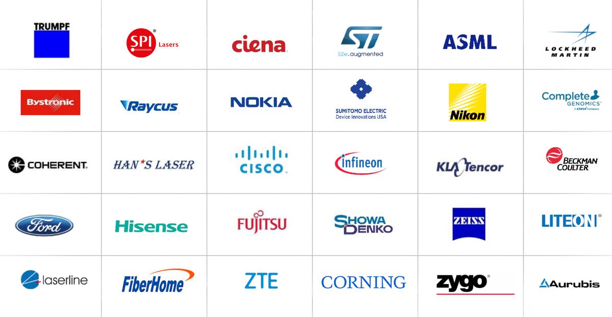 Логотипы клиентов компании. Источник: презентация компании, слайд 8