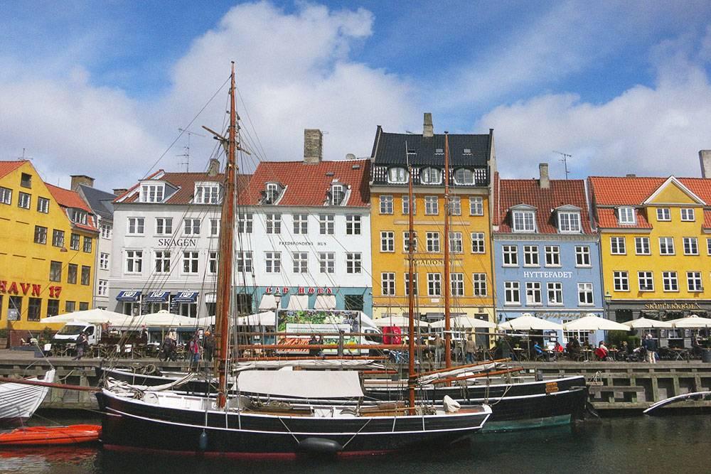 Новая гавань — самый известный «открыточный» вид Копенгагена