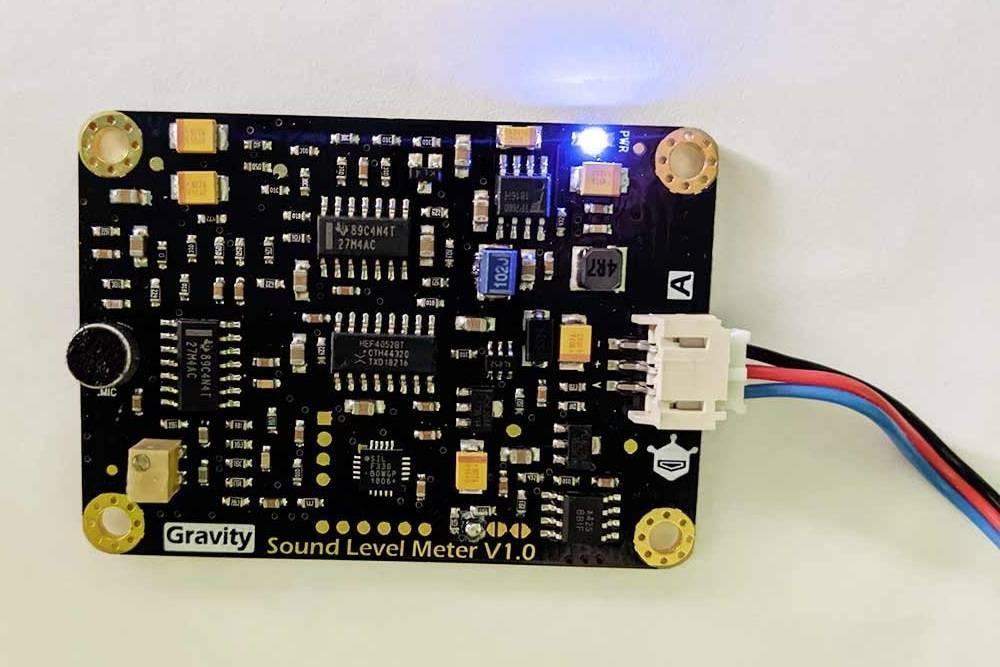 Прибор дляизмерения уровня шума DFRobot Gravity: Analog Sound Level Meter