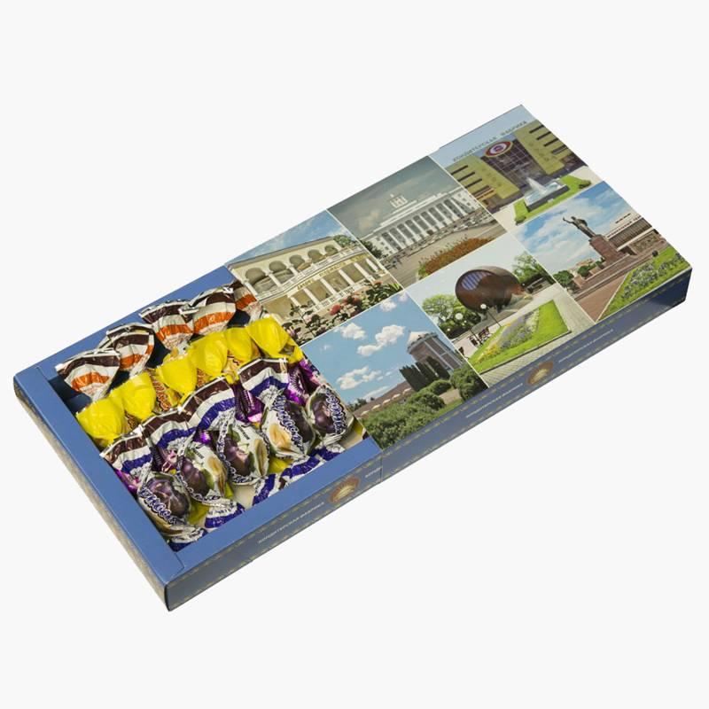 Коробка таких конфет стоит 90<span class=ruble>Р</span>