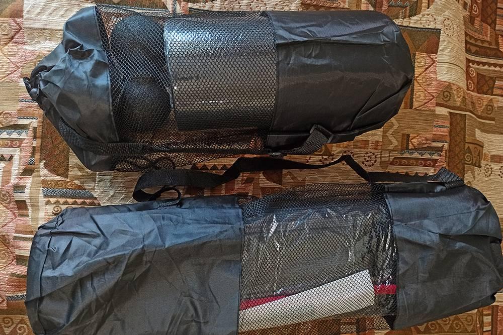 Каждый заказ — в отдельной походной сумке