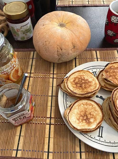 Завтрак и тыковка