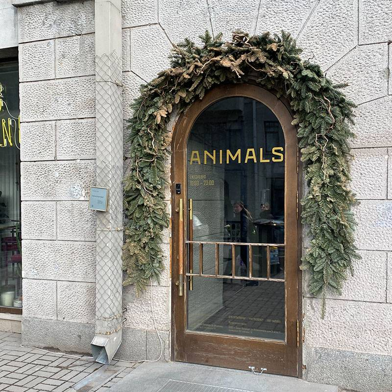 Вход в Animals