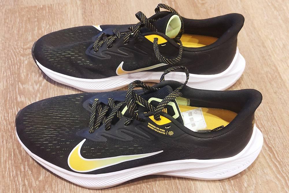 Мои кроссовки Nike Air Zoom WinFlo 7. Удобно и красиво