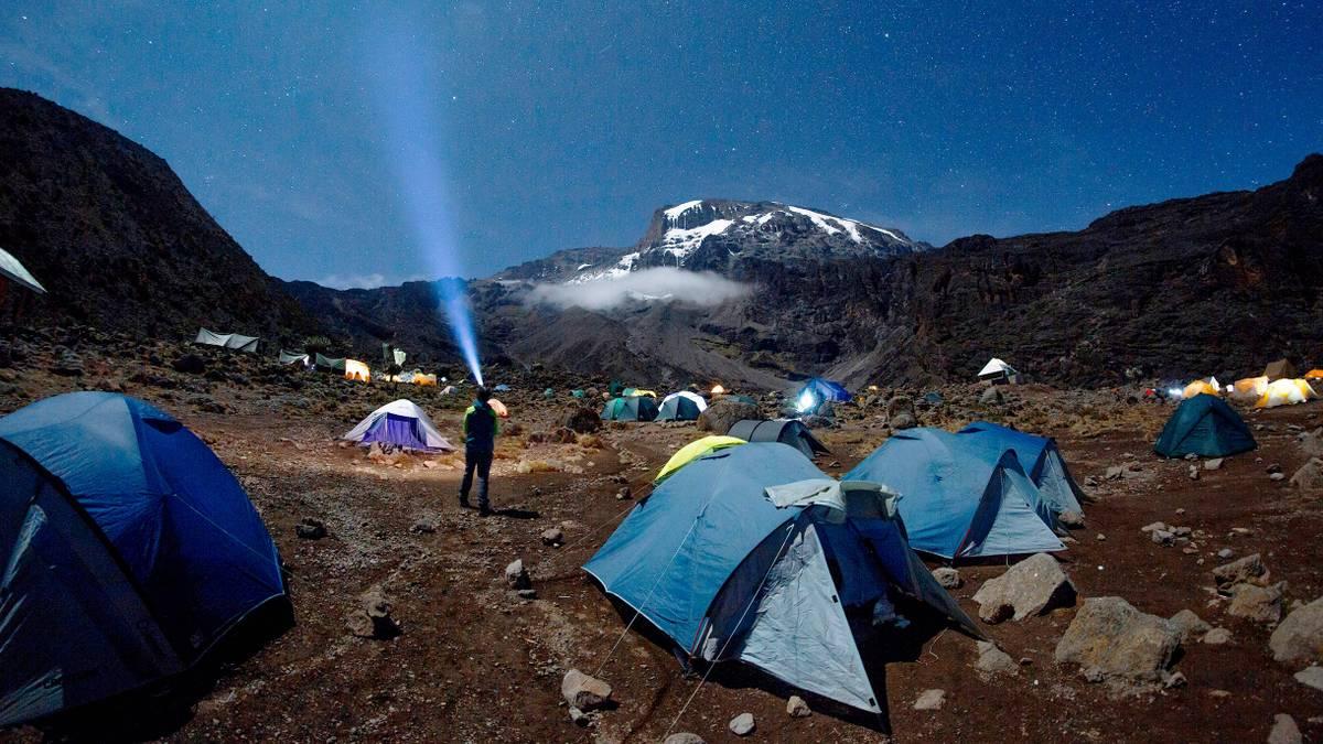 Как я поднялась на вершину Килиманджаро