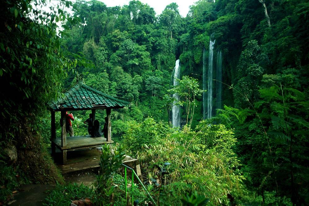 Водопад Секумпул — самый высокий на Бали