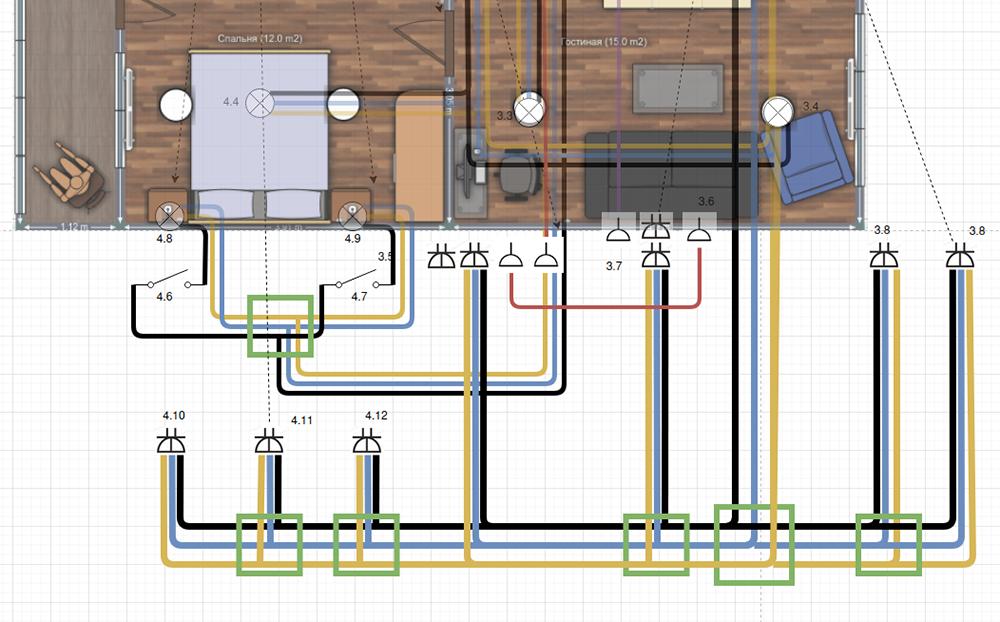 План дляэлектрика