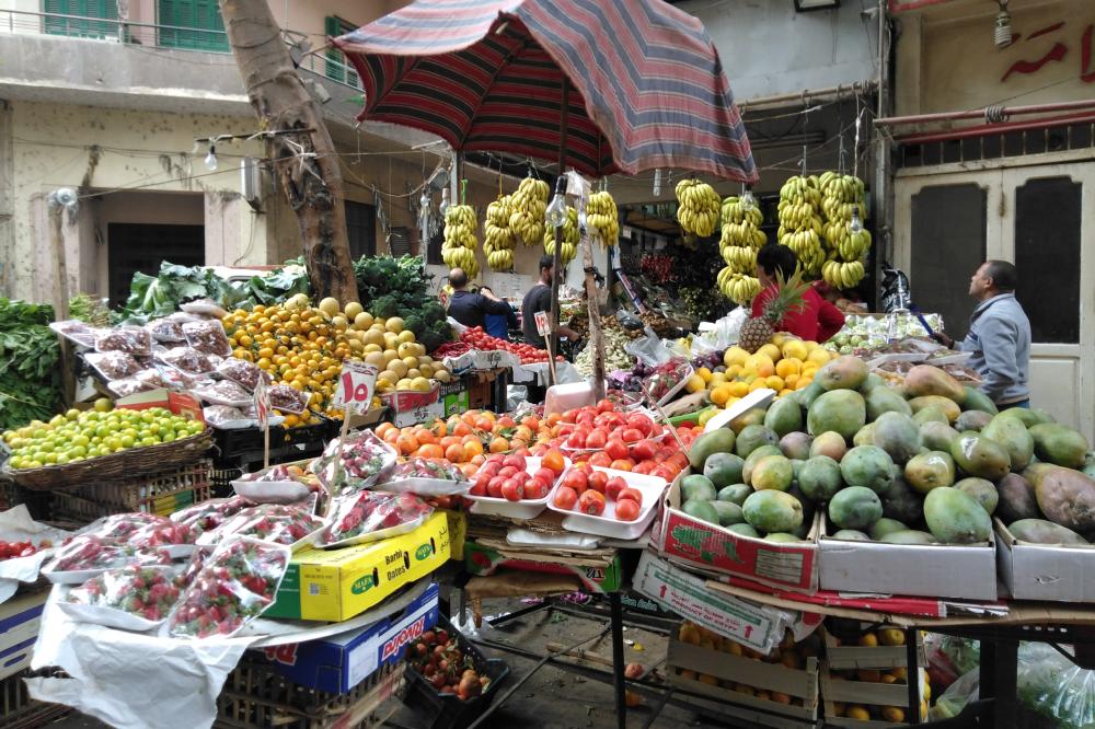 Типичный рынок в Каире