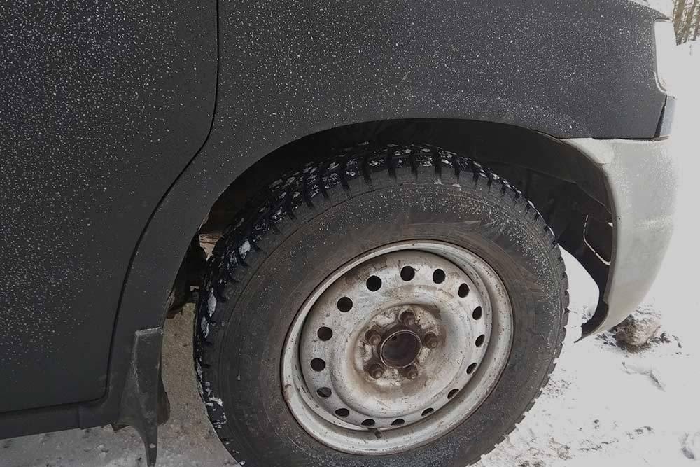 Автомобиль сразу после ремонта
