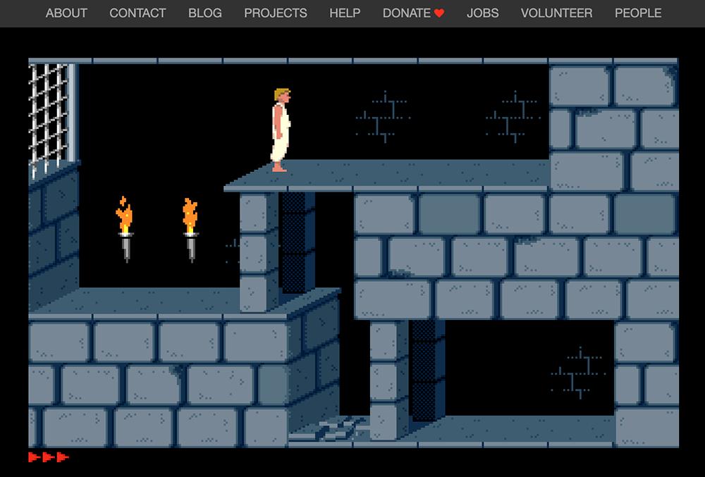 Игра «Принц Персии» не изменилась с 90-х: игрок должен сбежать из темницы и спасти принцессу за 60 минут