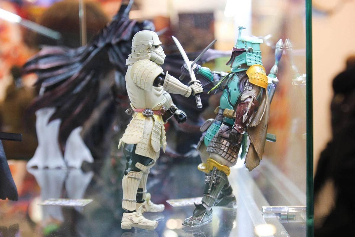 Фигурки персонажей «Звездных войн» в разных видах никогда не теряют популярность