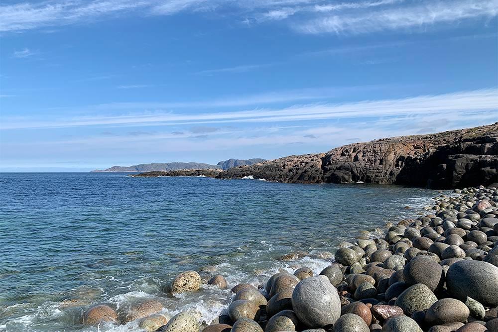 На Каменном пляже