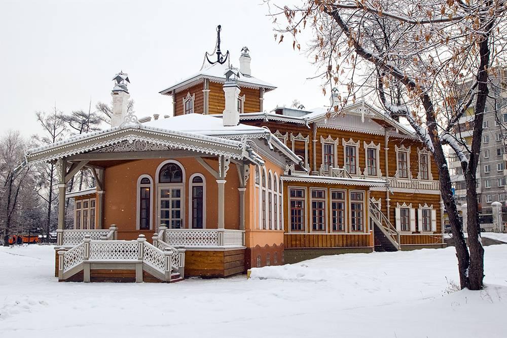 А это здание усадьбы Сукачева. Источник: Валерий Панфилов / «Иркипедия»