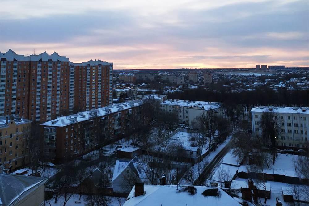 Вид из нашей квартиры