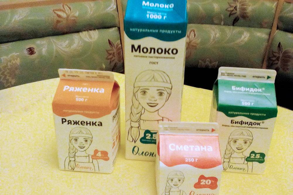 Из молочки предпочитаю продукцию Олонецкого молочного комбината