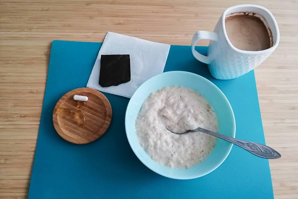 Наш завтрак обычно выглядит так