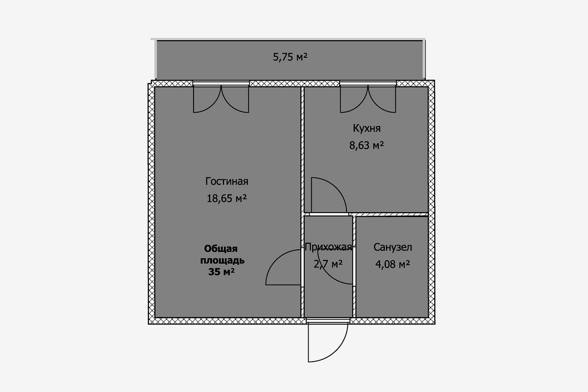 Многие семьи включают балкон всписок обязательных требований кквартире. Ноесли остекленный балкон перекрывает единственное окно, токомната становится темнее. Инестоит думать, что балкон или лоджию удастся каким-то образом присоединить кквартире. Сейчас это запрещено— категорически, безвариантов