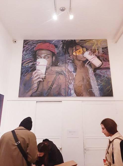Выставка молодой художницы в галерее «КулиАлма»