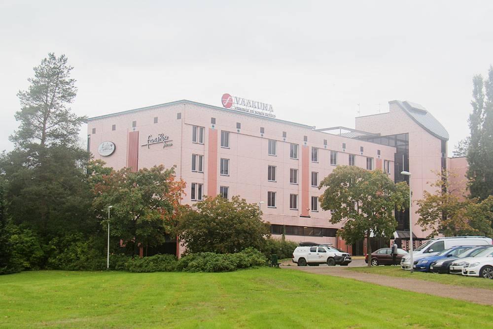 Отель сети Sokos в финском городе Коувола