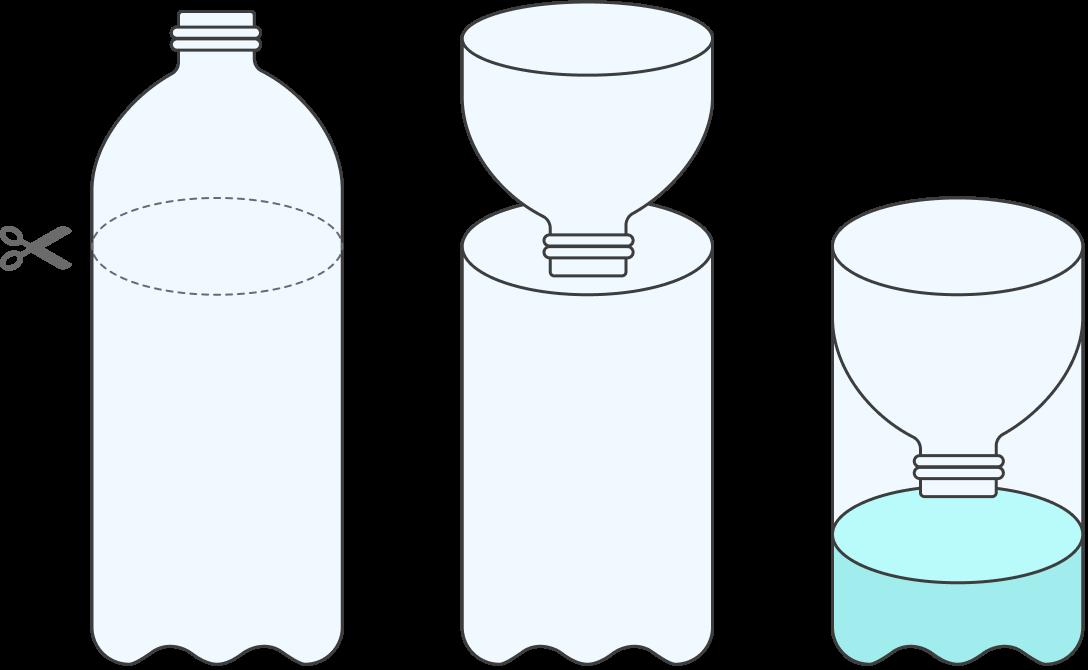 А так можно самостоятельно сделать ловушку из пластиковой бутылки. Помимо дешевизны плюс такой ловушки в том, что через прозрачные стенки бутылки видно, сколько наловилось мух. Впрочем, кому-то смотреть на насекомых, наоборот, не понравится