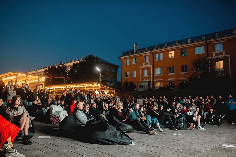 Фестиваль уличного кино в«Фабрике». Источник: vk.com