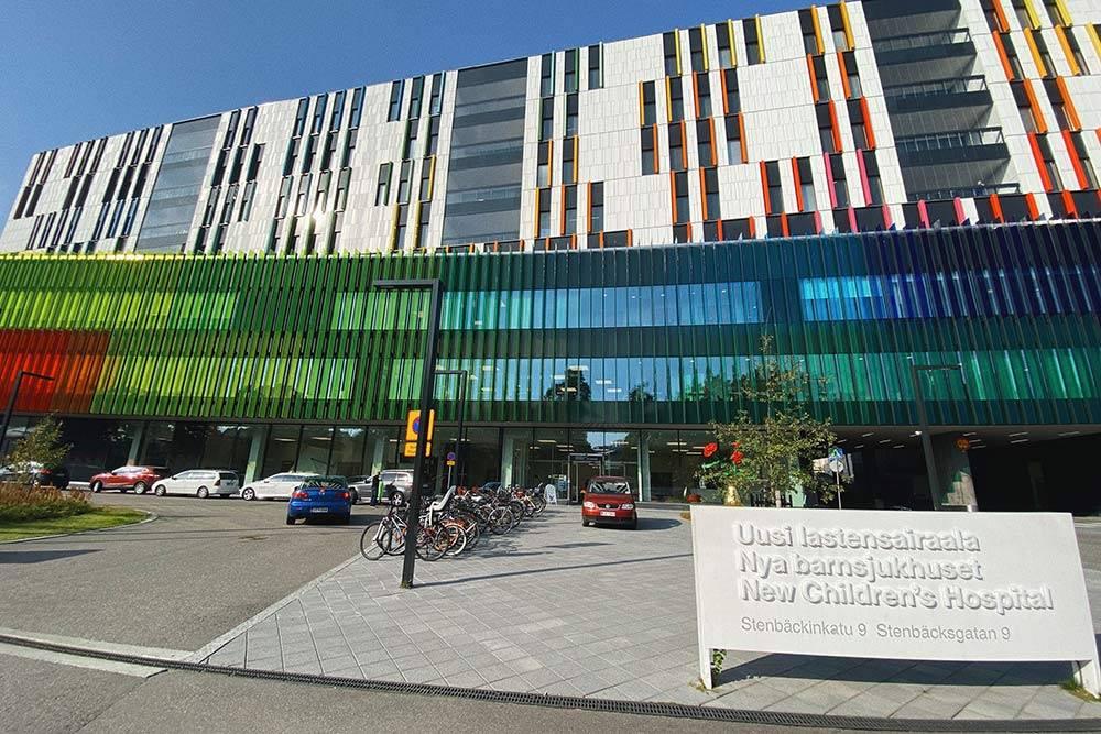 Детская больница водном израйонов Хельсинки