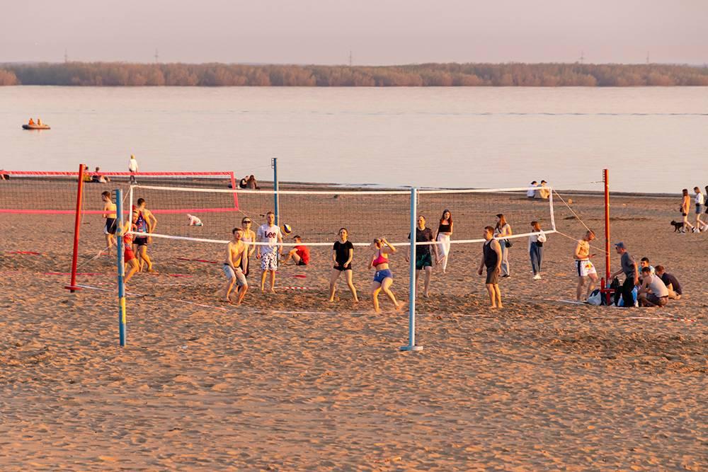 Оказывается, в Архангельске весьма неплохо развит пляжный волейбол
