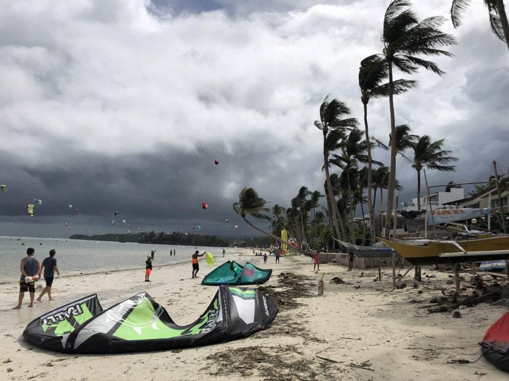 Кайтсерфинг на Филиппинах
