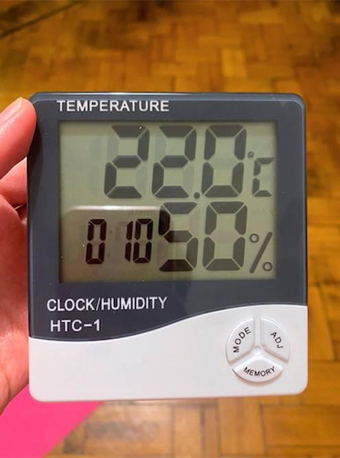 Когда уровень влажности 50%, стянутости нет