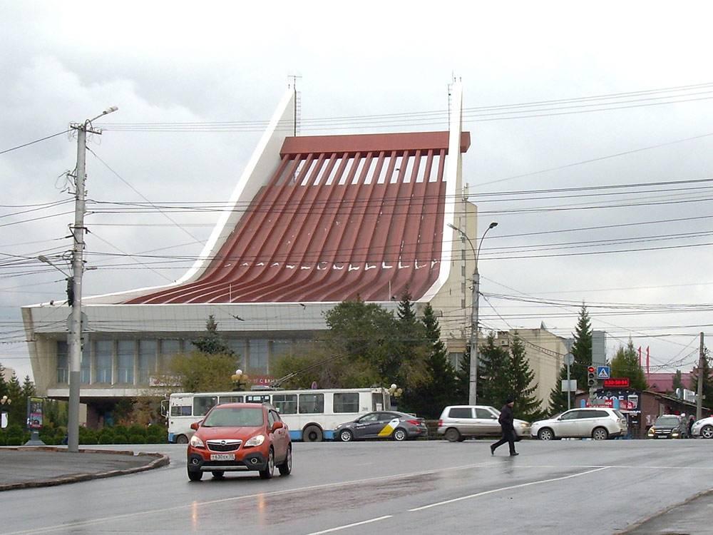 Музыкальный театр — архитектурный символ Омска