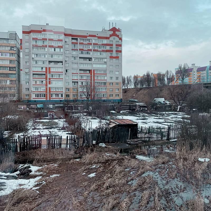 Брянск встретил унылыми пейзажами