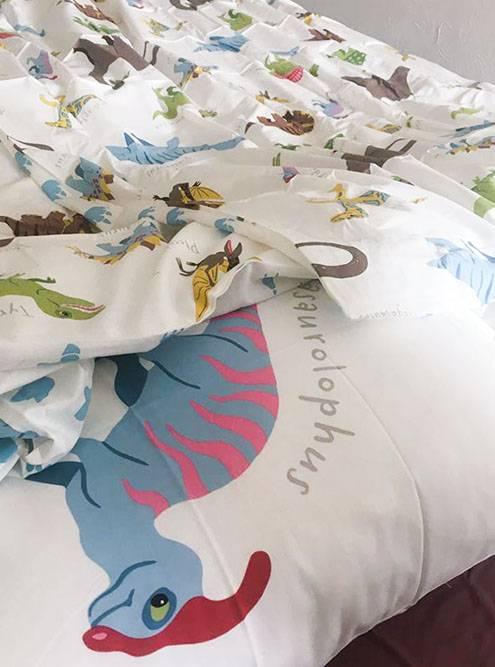 Постельное белье с динозавриками из «Икеи» — лучший вклад в хорошее настроение на ближайшее время