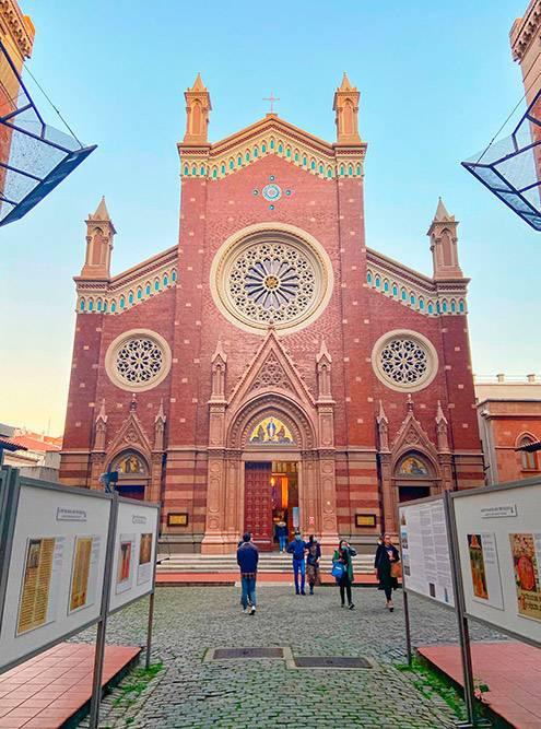 Малая базилика святого Антония Падуанского в Стамбуле — памятник древнего христианского зодчества