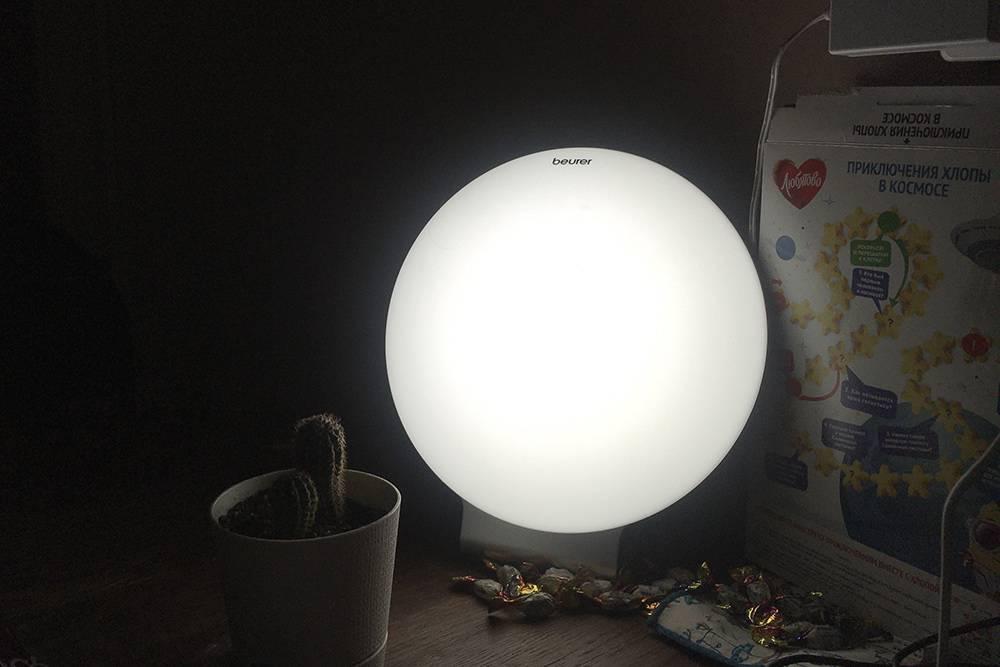 Сейчас я использую лампу каждый день и будтобы действительно быстрее «раскачиваюсь» по утрам